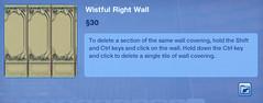 Wistful Right Wall