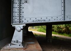 Rocker Bearing, Jensen Drive (Hill Street) Bridge over Buffalo Bayou, Houston, Texas 1310261115