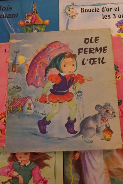 les beaux albums de francinou / Ole ferme l'oeil