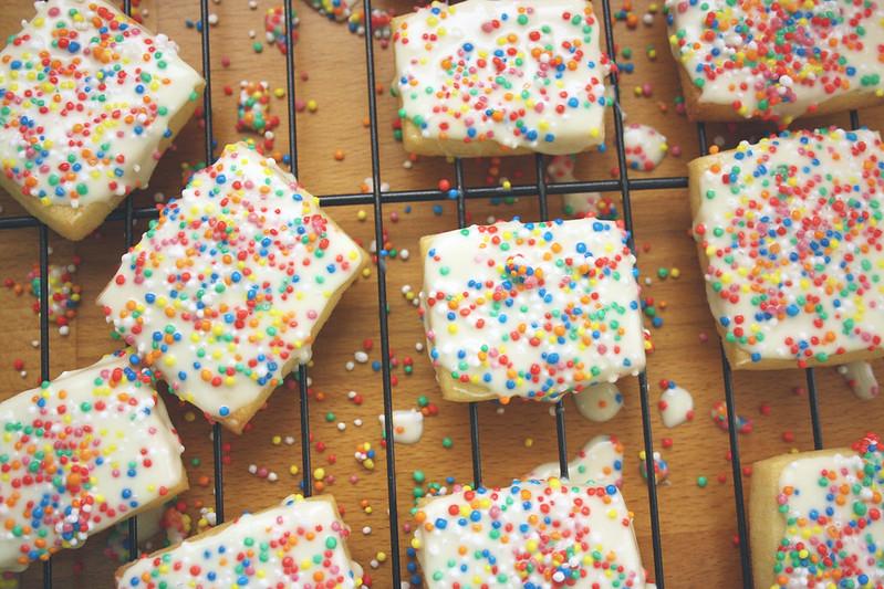 Confetti Biscuits