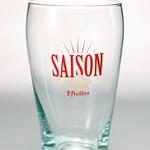 ベルギービール大好き!!【サン・フーヤン・セゾンの専用グラス】(管理人所有 )