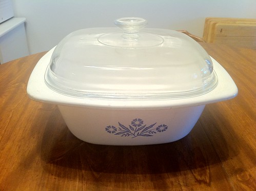 Corning Ware Blue Cornflower 5 Qt Dutch Oven
