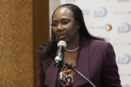 Fatoumata Nafo-Traoré at RBM, ALMA & WHO Launch of the 2013 WHO World Malaria Report