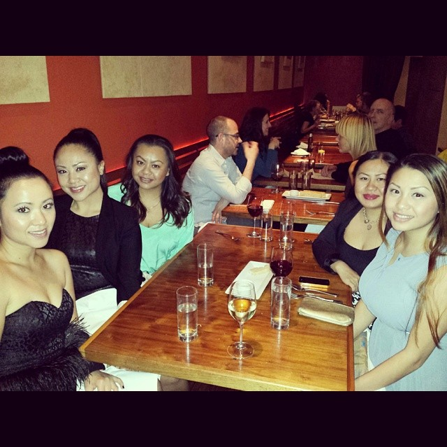 Girls Night Out. Birthday Dinner With My Lovely Family: My