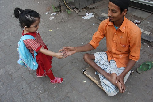 Nerjis Asif Shakir 2 Year Old Friend Of  The Beggars Of Bandra by firoze shakir photographerno1