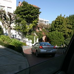 Going down Lombard