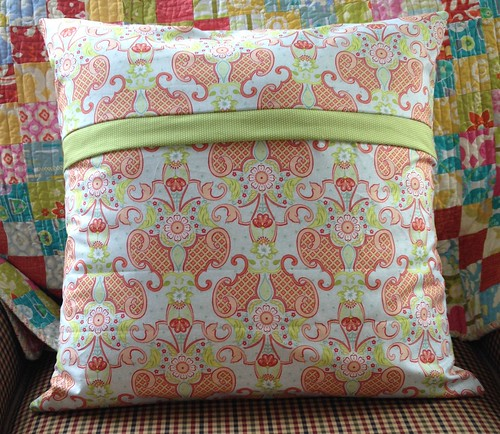Scrappy Colorado pillow back