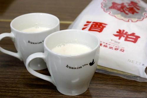 ミルク甘酒の作り方