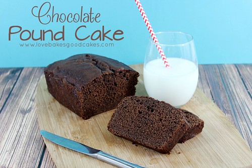 Chocolate Pound Cake #chocolate #poundcake #dessert