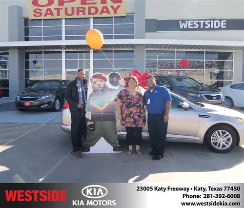 Happy Anniversary to Michael Guignard on your 2013 #Kia #Optima from Suliveras Wilfredo and everyone at Westside Kia! #Anniversary by Westside KIA