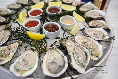 Platter of Blue Point Oysters