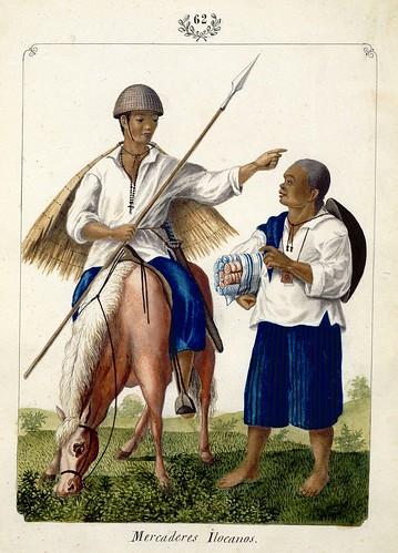 014-Mercaderes Ilocanos-Vistas de las Yslas Filipinas y Trages…1847-J.H. Lozano- Biblioteca Digital Hispánica