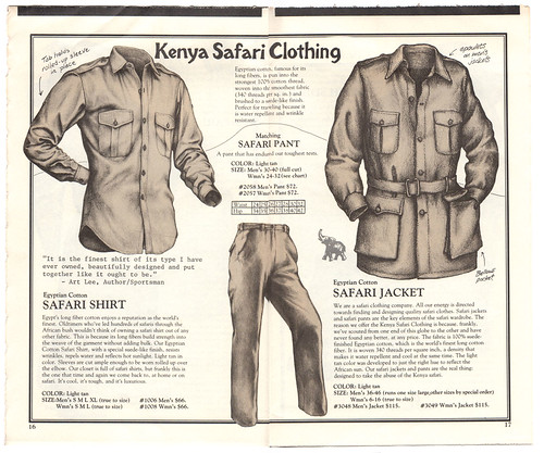 990df014d1 A page from a Banana Republic catalog.