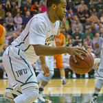 2014-01-27 -- Men's basketball vs. Wheaton.