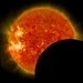 SDO Lunar Transit, Prominence Eruption, and M-Class Flare by NASA Goddard Photo and Video