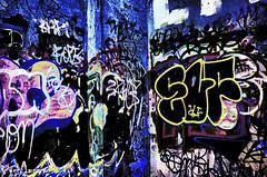 Coal pier graffiti