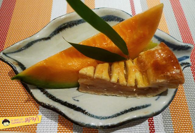 Shogetsu Grand Hotel - Shogetsu style seasonal dinner - hokkaido melon