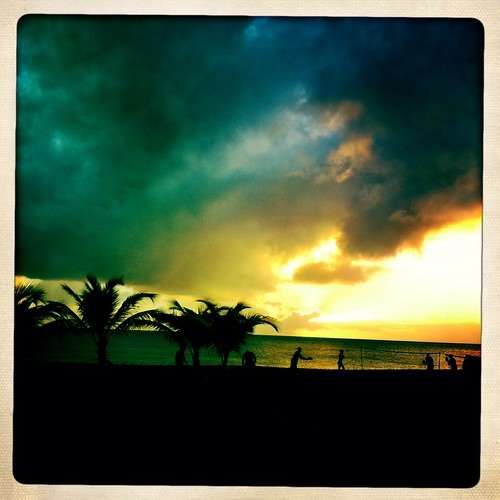 sunset sea beach seaside martinique contrejour iphone schoelcher iphoneography hipstammatic