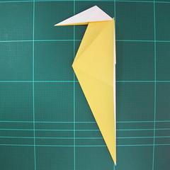 วิธีการพับกระดาษรูปม้าน้ำ (Origami Seahorse) 016