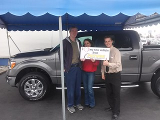 Congrats to David and Suzie Floyd of Orangevale, CA on their 2014 Ford F150 XLT Pickup from Thomas Sober. Thank you!