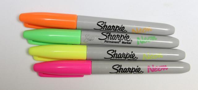 Sharpie Neon Markers