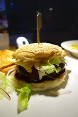 sandwich, meal, breakfast, hamburger, food, dish, pincho,