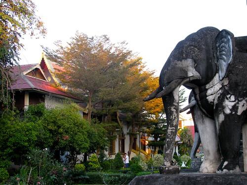 Jardines del Wat Chiang Man