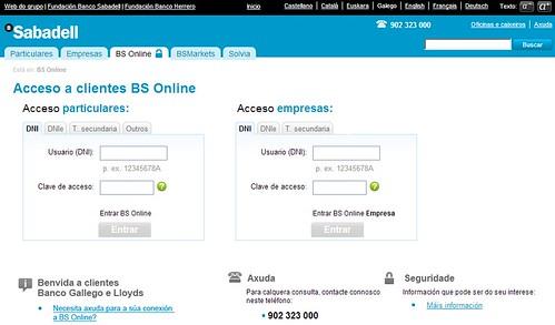 Novedades banca a distancia blog banco sabadell - Herrero online particulares ...