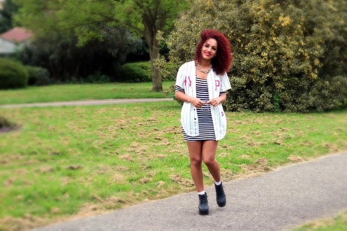 Forever 21 Stripy Dress