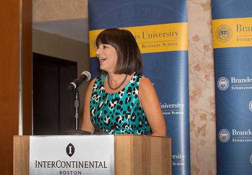 2014 Asper Award winner Diane Hessan spoke at the ceremony.