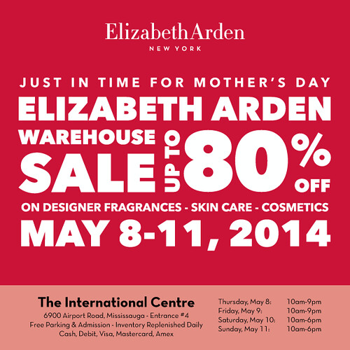 Elizabeth Arden Warehouse Sale Presented by Style Democracy