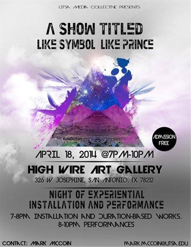 A Show Titled, Like Symbol, Like Prince