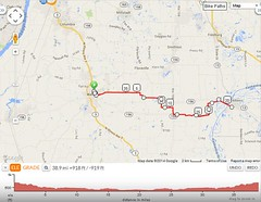 Bike ride 5-6-14 map