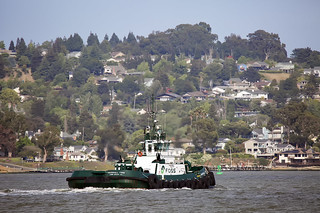 Marshal Foss  at Carquinez Straight