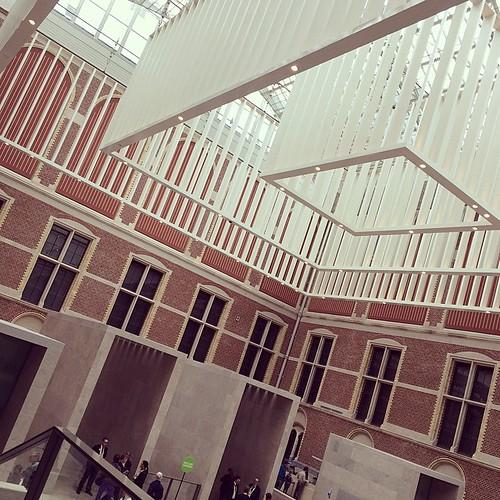 Rijksmuseum in Amsterdam :)