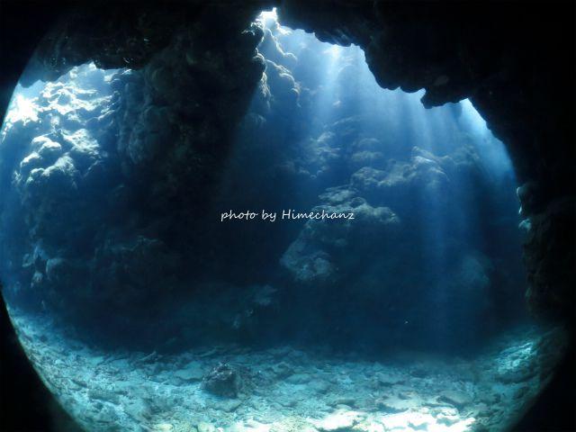 洞窟に入った時にだけ晴天になってくれて、めちゃくちゃキレイでした!!!