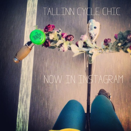 we are now in instagram. follow @tallinncyclechic