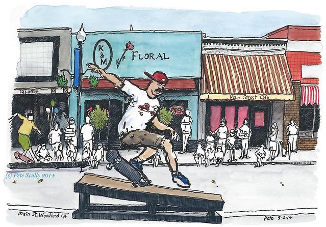 Main St Skater sm