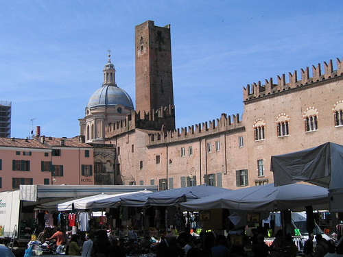 Piazza Sordello - Mantova