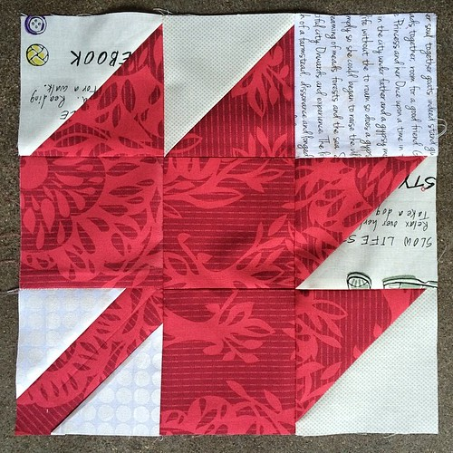 Harmony May 2014 #dogoodstitches block 1 complete!