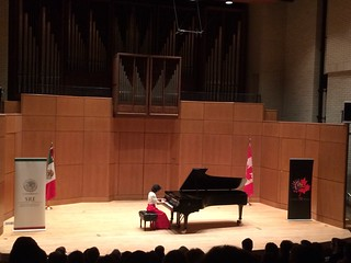 Concierto de Leticia Gómez Tagle, Consulado de México en Vancouver