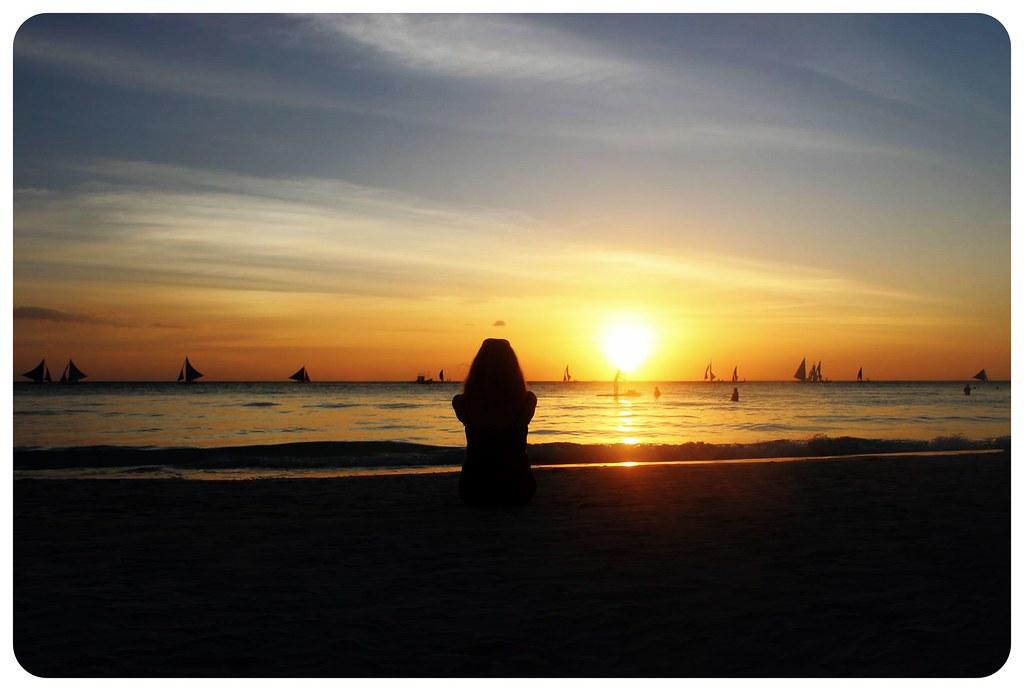 dani boracay sunset