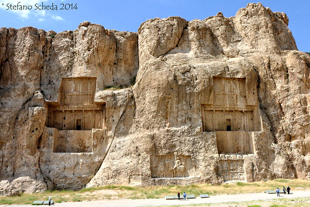 Achaemenid tombs - Naqš-e Rostam, Iran