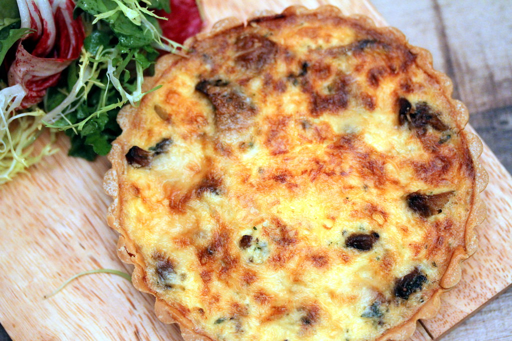 Shelter in the Woods' Shelter Quiche