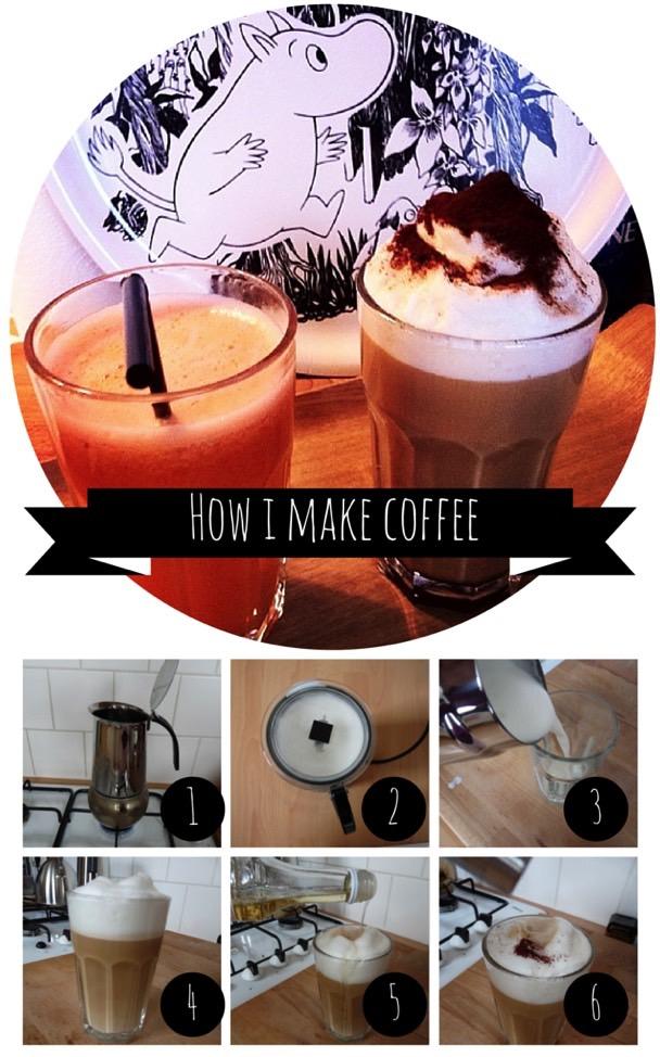 Ravacholle Lifestyle Blog How I make Coffee