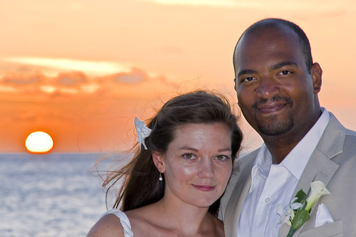 Anne Johnson '01 and Frantz Williams '99