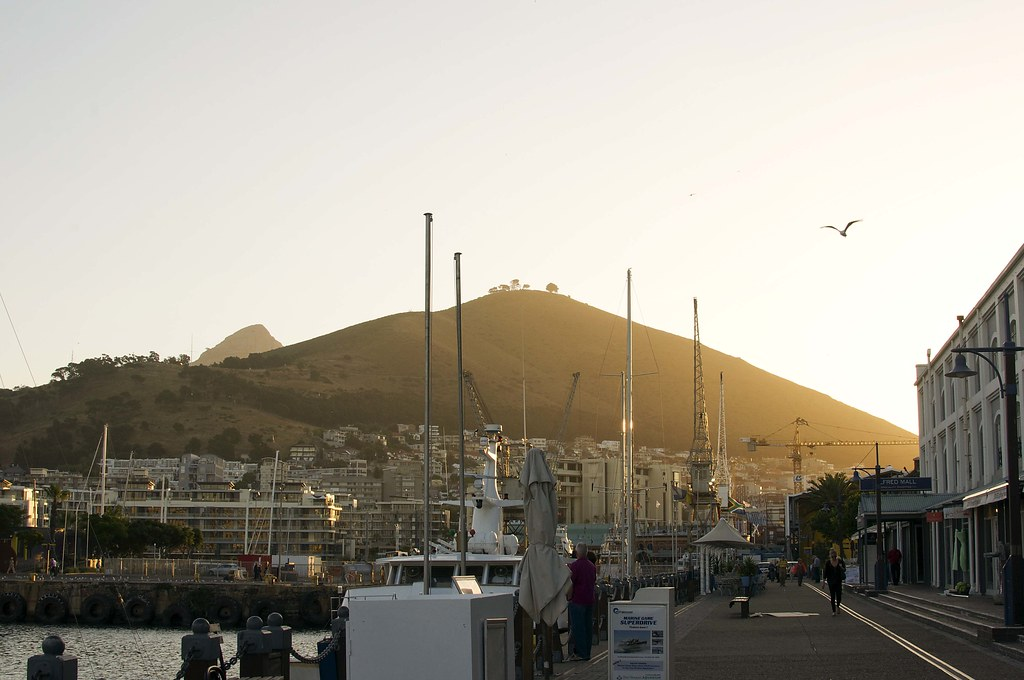 View of Signal Hill from the V&A Waterfront
