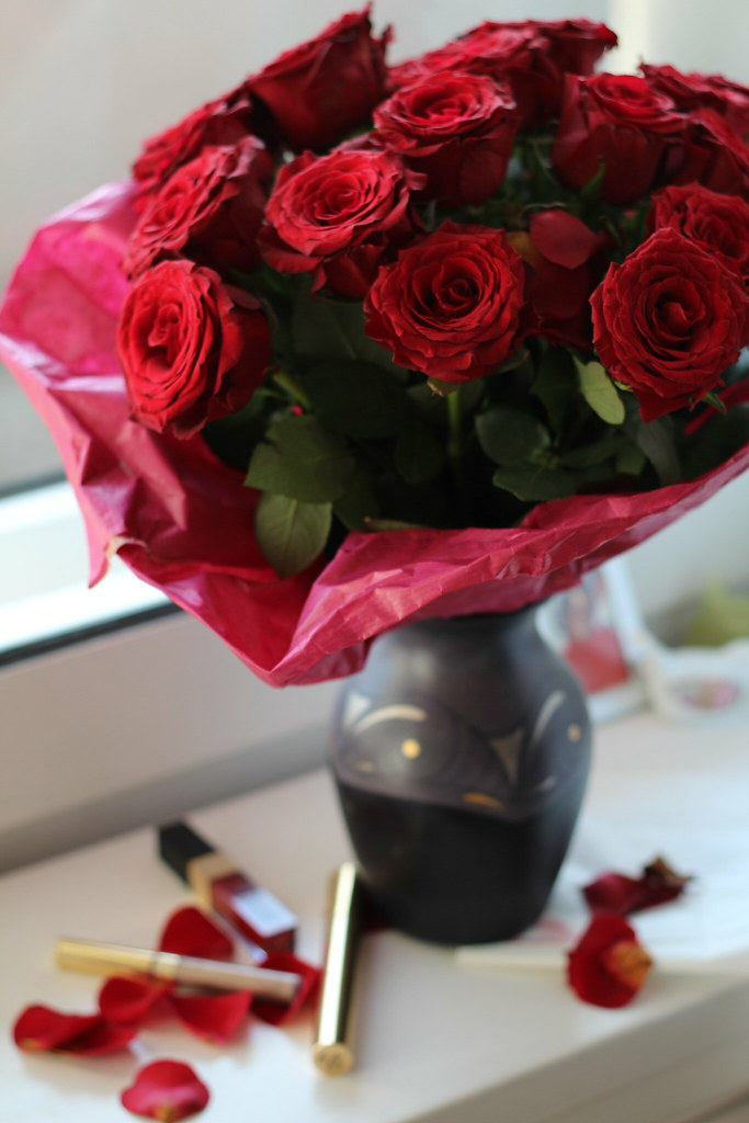 happy valentines day roses lisforlois
