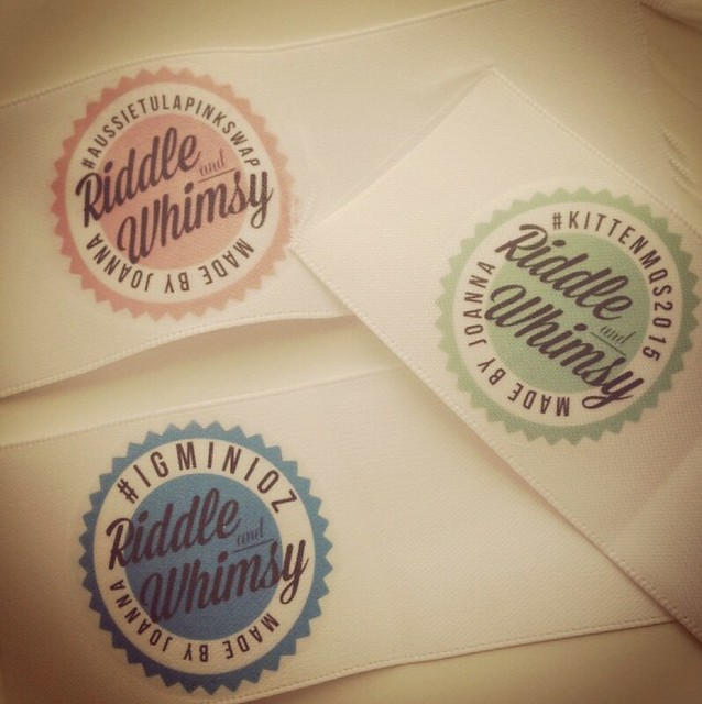 Riddle and {Whimsy} Making labels 2