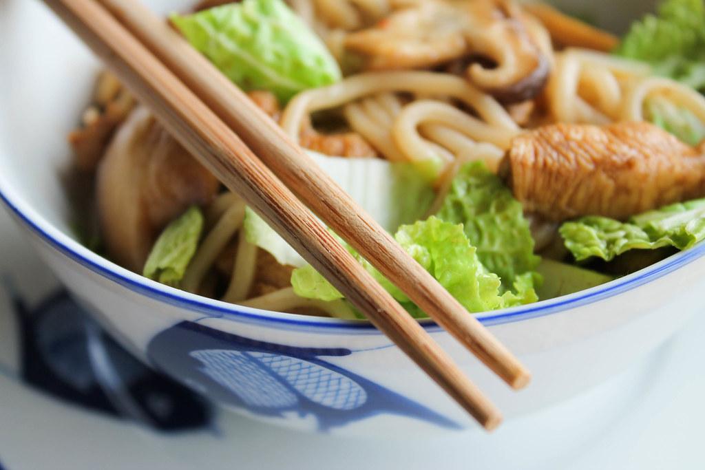 Recette de nouilles udon